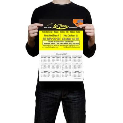 Calendarios De Pared Low Cost