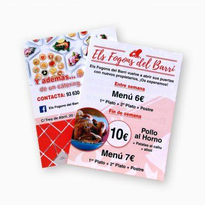 Impresión Flyer/Folletos A5 Baratos | Mithos Imprenta Online Barata