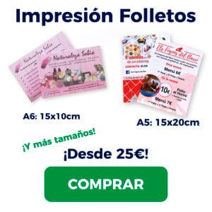 Imprimir Folletos Flyer Hospitalet Cornellà