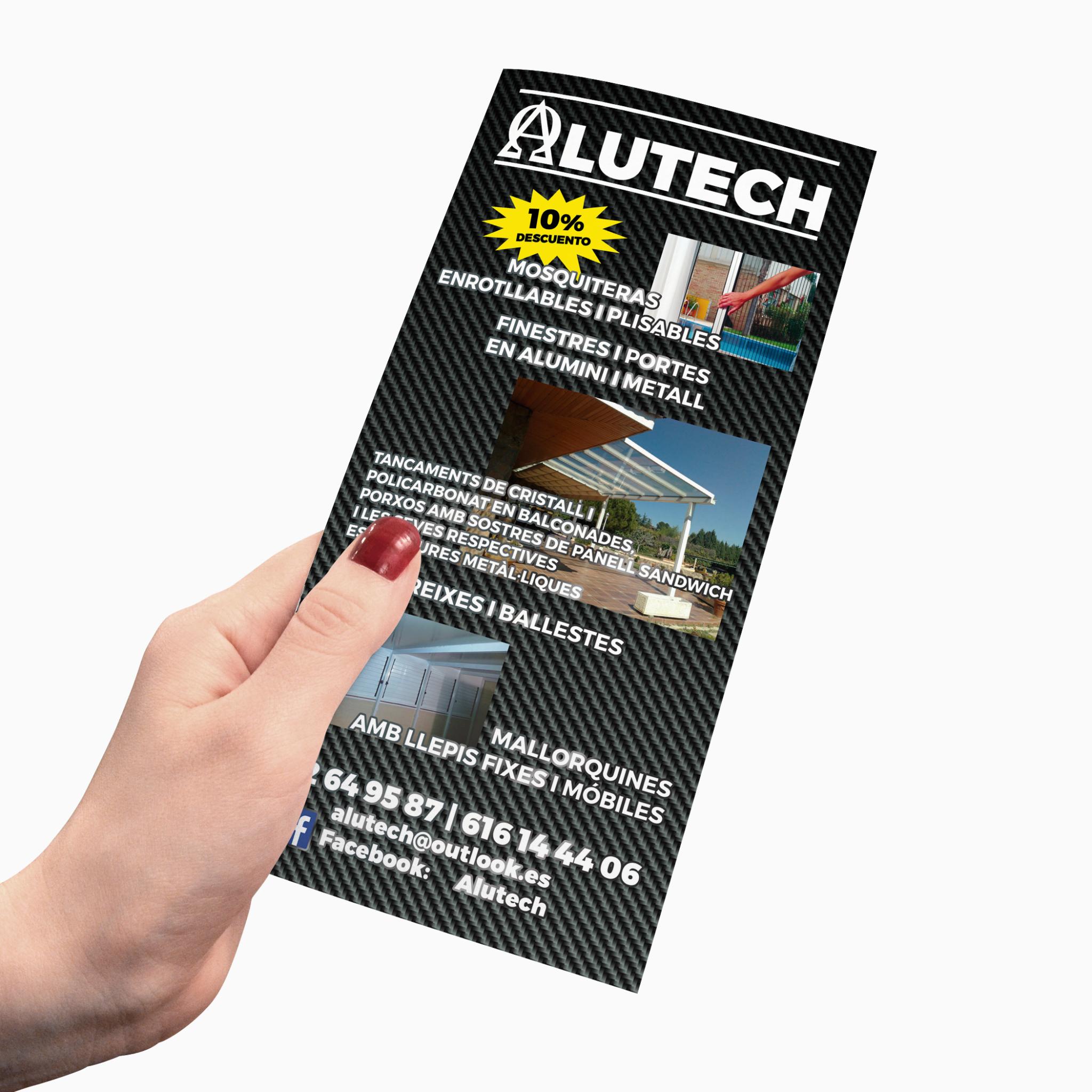 Impresión Flyer/Folletos Alargados Baratos | Imprenta Online Barata