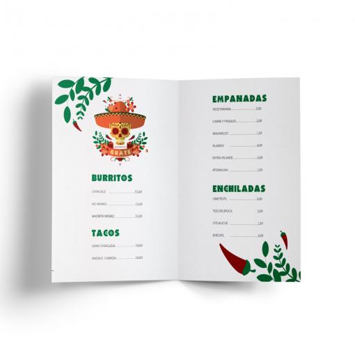 Mithos Publicidad Imprenta Online Flyer Dípticos Doblado