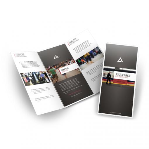 Mithos Publicidad Imprenta Online Flyer Trípticos Doblado